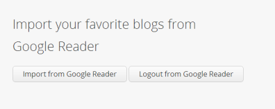 My Morning Coffee- Import Blogs from Google Reader to Bloglovin'