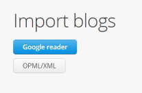 My Morning Coffee- Bloglovin' Import from Google Reader