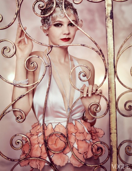 My Morning Coffee- Carey Mulligan and The Great Gatsby in Vogue
