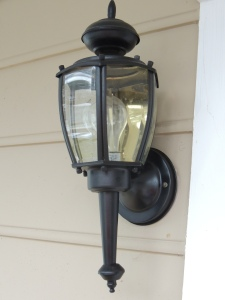 My Morning Coffee Blow- Exterior Lights Makeover