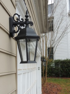 My Morning Coffee- New Exterior Lights