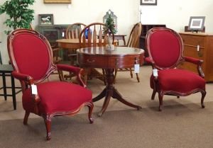 My Morning Coffee- Victorian Parlor Chairs on Craigslist